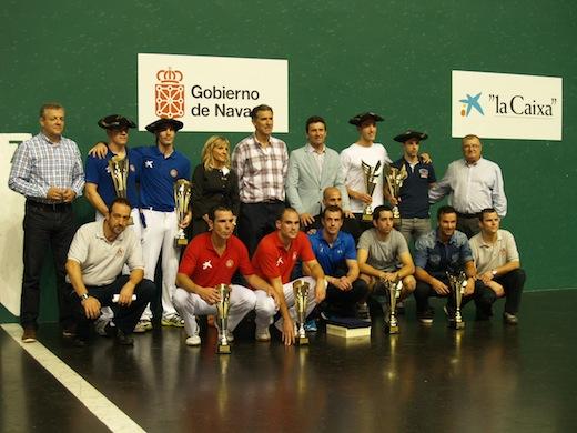 Premiados: Foto Federación Navarra